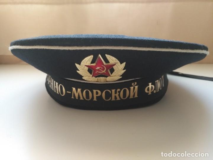 GORRA MILITAR EJERCITO RUSO UNION SOBIETIA TALLA 57 (Militar - Boinas y Gorras )