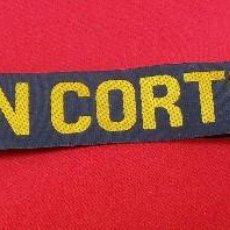 Militaria: CINTA DE LEPANTO HERNAN CORTES. Lote 162929882