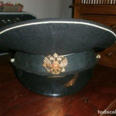 Militaria: GORRA DE PLATO MILITAR EJERCITO RUSO GRANDE TALLA 60 - BUEN ESTADO. Lote 163612018