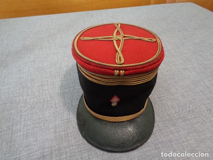 KEPI O GORRA FRANCESA OFICIAL PRIMERA GUERRA MUNDIAL (Militar - Boinas y Gorras )