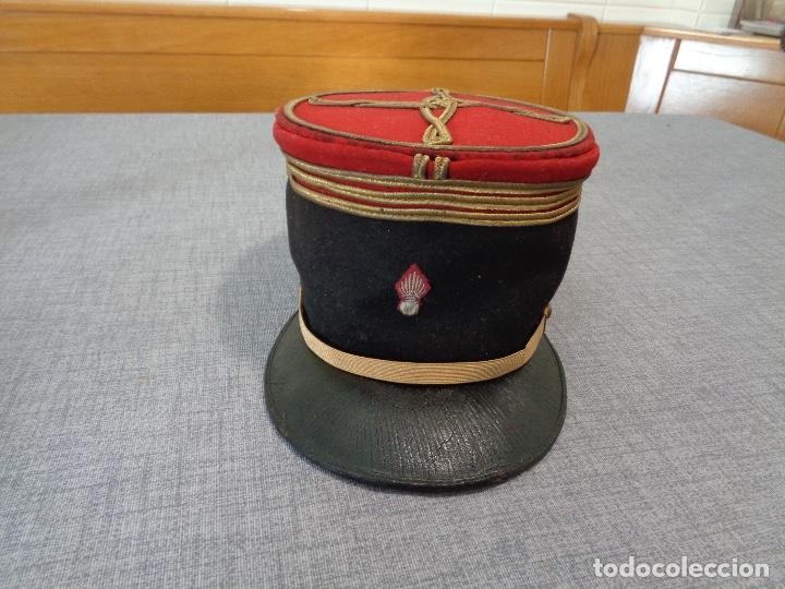 Militaria: Kepi o gorra francesa oficial primera guerra mundial - Foto 2 - 164742070