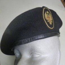 Militaria: BOINA NEGRA . Lote 164761550