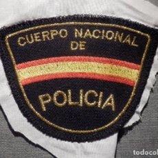 Militaria: PARCHE CUERPO NACIONAL DE POLICIA . Lote 164876986
