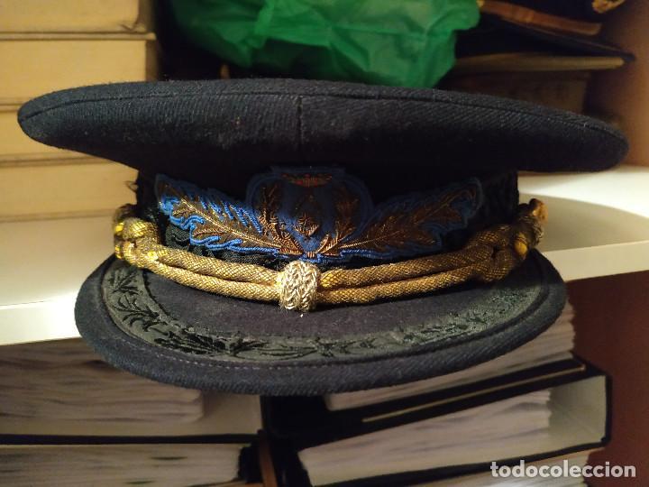 Militaria: Gorra de Ingeniero época de Franco - Foto 2 - 165454958