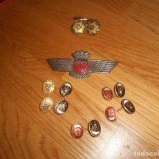 Militaria: LOTE GEMELOS ROKISKI BRIGADA PARACAIDISTA EPOCA DE FRANCO. Lote 165613742