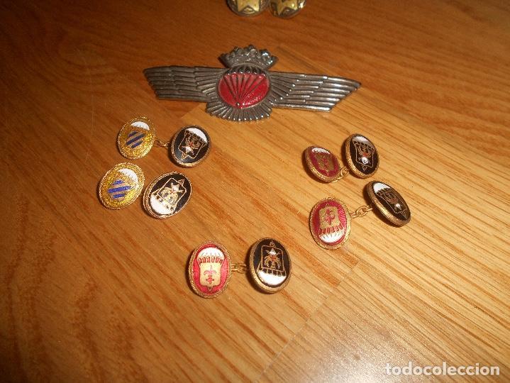 Militaria: LOTE GEMELOS Rokiski Brigada Paracaidista Epoca de Franco - Foto 2 - 165613742