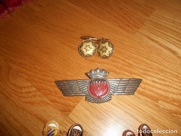 Militaria: LOTE GEMELOS Rokiski Brigada Paracaidista Epoca de Franco - Foto 3 - 165613742