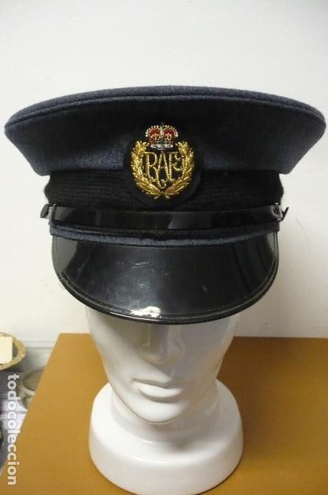 gorra piloto de la RAF