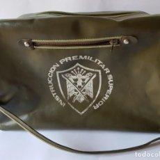 Militaria: BOLSO INSTRUCCION PREMILITAR SUPERIOR. Lote 165688618