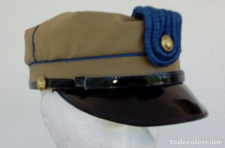 Militaria: TERESIANA ATN. GORRA TROPAS NÓMADAS DEL SÁHARA TALLA GRANDE 58, BUEN ESTADO. - Foto 5 - 165872662