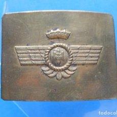 Militaria: HEBILLA DE AVIACIÓN. ÉPOCA DE FRANCO.. Lote 166071554