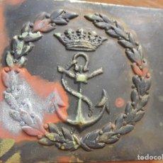 Militaria: MARINA DE GUERRA ESPAÑOLA. CINTURÓN PARA INFANTERÍA DE MARINA Y MARINERÍA. AÑOS 1940 / 1950.. Lote 166080106