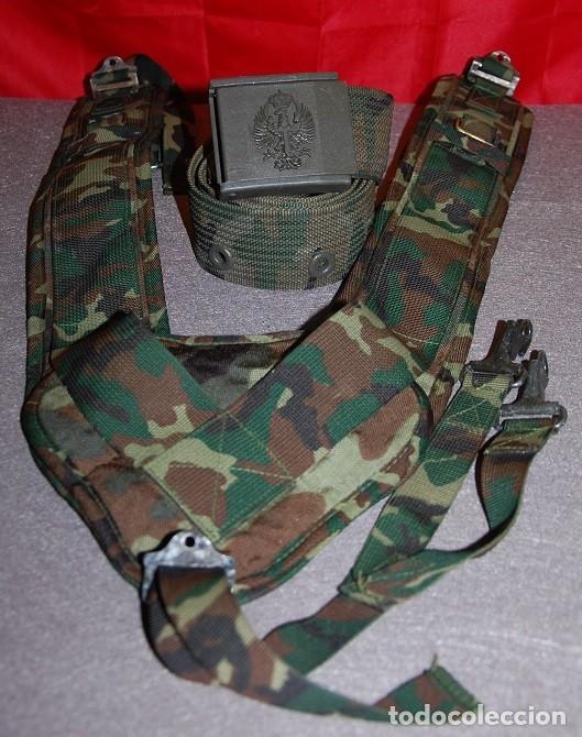 TRINCHAS MILITARES MIMETIZADAS + DE REGALO CINTURON DE LONA MIMETIZADO (Militar - Cinturones y Hebillas )
