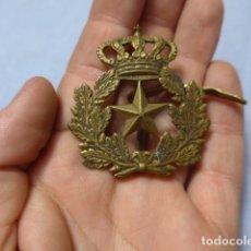 Militaria: * ANTIGUA HEBILLA DE ESTADO MAYOR ALFONSINA, ORIGINAL, DE CABALLERIA ALFONSO XIII. ZX. Lote 166535230