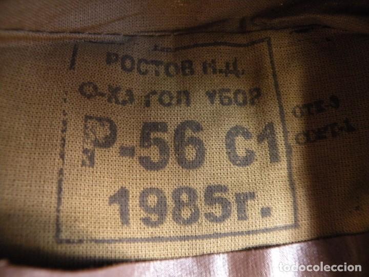 Militaria: Gorra de campo del soldado de Ejercito Soviético - Foto 2 - 166689374