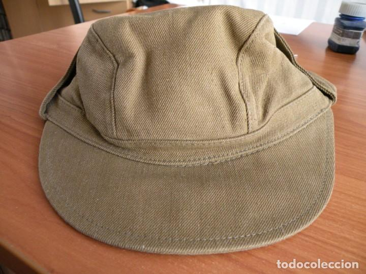 Militaria: Gorra de oficial soviético de guerra de Afganistán - Foto 2 - 166689678