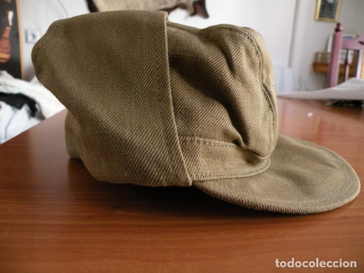Militaria: Gorra de oficial soviético de guerra de Afganistán - Foto 3 - 166689678