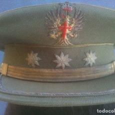 Militaria: GORRA DE PLATO DEL EJERCITO DE TIERRA DE CORONEL EPOCA DE FRANCO. Lote 166735026