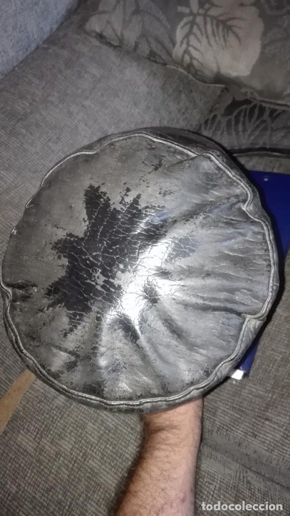 Militaria: Gorra de cuero o similar.probablemente guerra civil - Foto 3 - 167144728