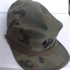 Militaria: GORRA CAMUFLAJE ESCUDO BORDADO. Lote 167162518