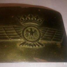 Militaria: ~~~~ HEBILLA MILITAR EJERCITO DE AVIACION AÑOS 40, EPOCA DE FRANCO . ~~~~. Lote 167606148