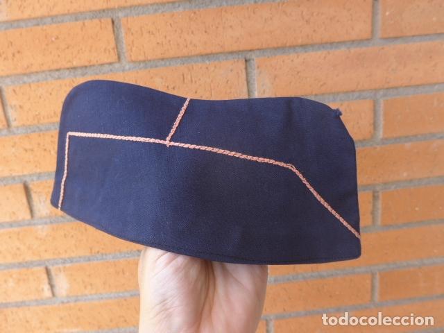 Militaria: * Antiguo gorrillo de falange, original, años 40. ZX - Foto 2 - 167615428