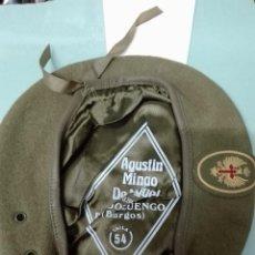 Militaria: BOINA CAQUI EJÉRCITO DE TIERRA. Lote 167621802