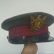 Militaria: GORRA DE PLATO DE LA POLICIA MUNICIPAL DE SEVILLA , EPOCA DE FRANCO. Lote 168390336