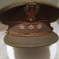 Militaria: GORRA DE PLATO DE CAPITAN DEL EJERCITO DE TIERRA ESPAÑOL. Lote 168445668