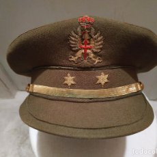 Militaria: GORRA DE PLATO DE TENIENTE EJERCITO DE TIERRA ESPAÑOL. Lote 168492848