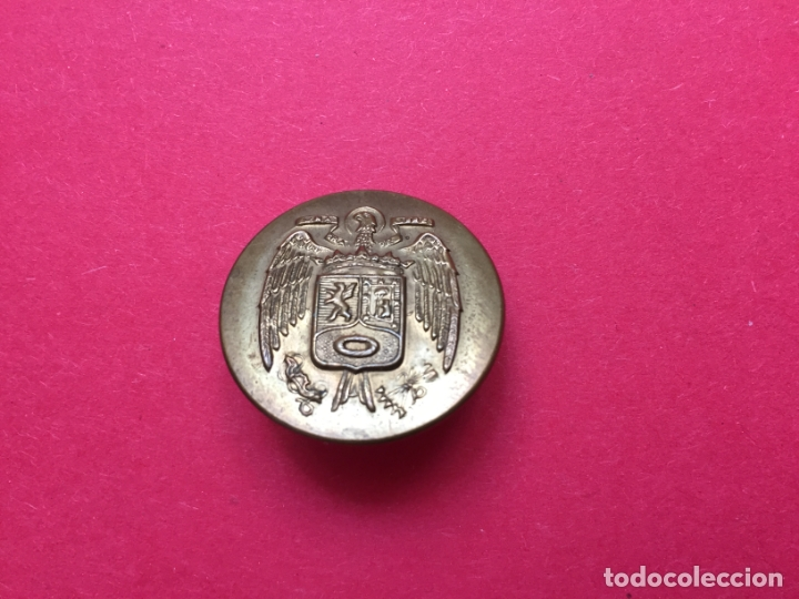 Militaria: Antiguos 3 BOTONES metálicos (Policía Municipal Madrid; 1950's) Águila ¡COLECCIONISTA! ¡Originales! - Foto 8 - 168600280
