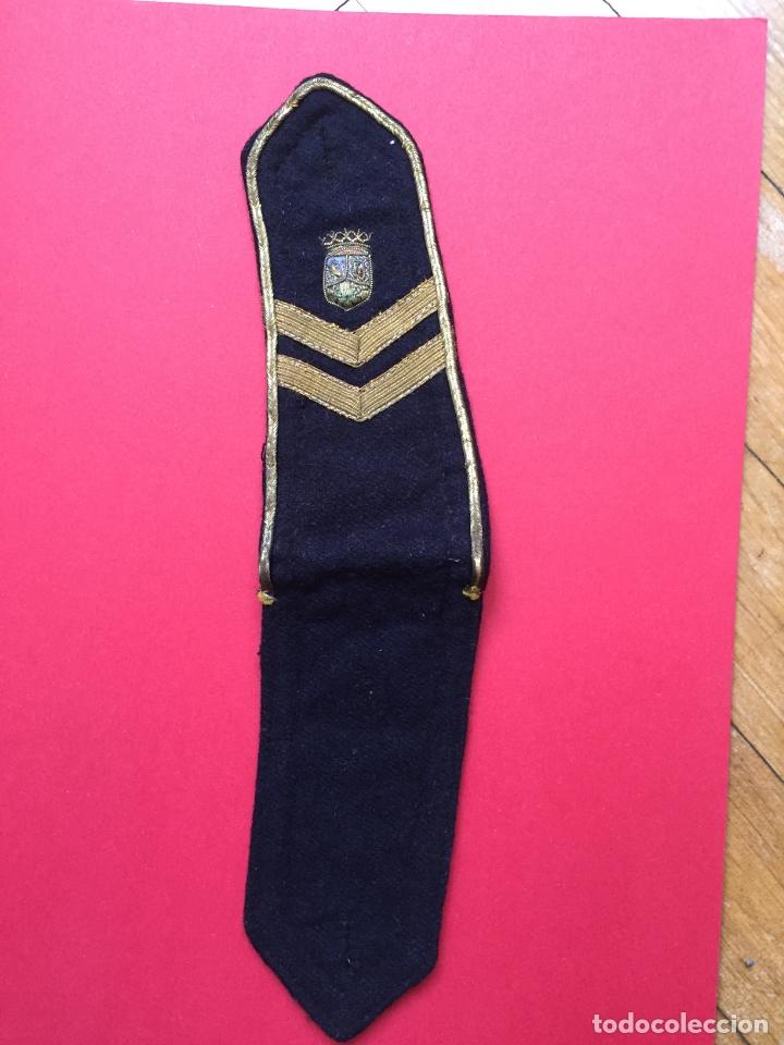 Militaria: Antigua HOMBRERA tela bordada (Policía Municipal Madrid; 1950's) ¡COLECCIONISTA! ¡Original! - Foto 6 - 168627784
