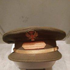 Militaria: GORRA DE PLATO SARGENTO DEL EJERCITO DE TIERRA ESPAÑOL. Lote 168469144