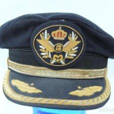 Militaria: GORRA PILOTO COMANDANTE DE IBERIA, LINEAS AEREAS, EXCELENTE ESTADO DE CONSERVACION, FABRICA DE GORRA. Lote 168772468
