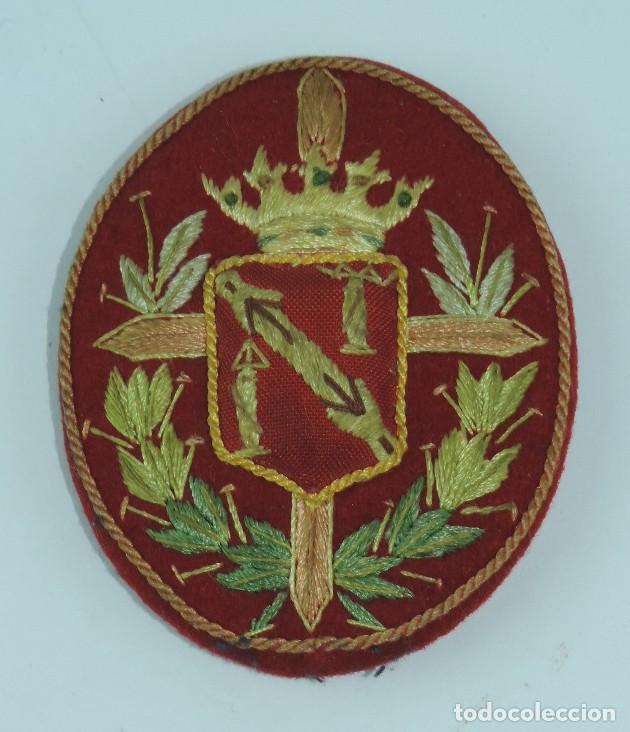 GALLETA PARA GORRA DEL REGIMIENTO DE LA GUARDIA DE SU EXCELENCIA EL JEFE DEL ESTADO Y GENERALISIMO (Militar - Boinas y Gorras )