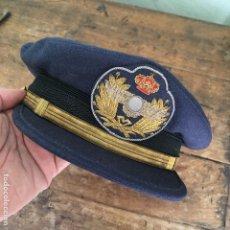 Militaria: GORRA DE PLATO DE OFICINAS MILITARES DEL EJERCITO DE AIRE, DE PERÍMETRO MIDE 56CM . Lote 169913560