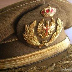Militaria: GORRA DE GENERAL DEL EJERCITO DE TIERRA. AÑOS 80. CALIDAD EN BORDADOS.. Lote 170423956