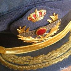 Militaria: EXCEPCIONAL GORRA DE GENERAL DE AVIACIÓN. ÉPOCA DE JUAN CARLOS I. CALIDAD EN BORDADOS.. Lote 170424872