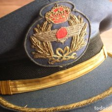 Militaria: GORRA DE CORONEL DE AVIACIÓN. AÑOS 70-80. EPOCA DE LA TRANSICIÓN. EMBLEMAS BORDADOS.. Lote 170441736