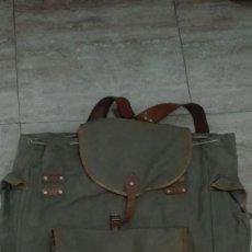 Militaria: ANTIGUA MOCHILA TROPAS DE MONTAÑA.. Lote 183929408