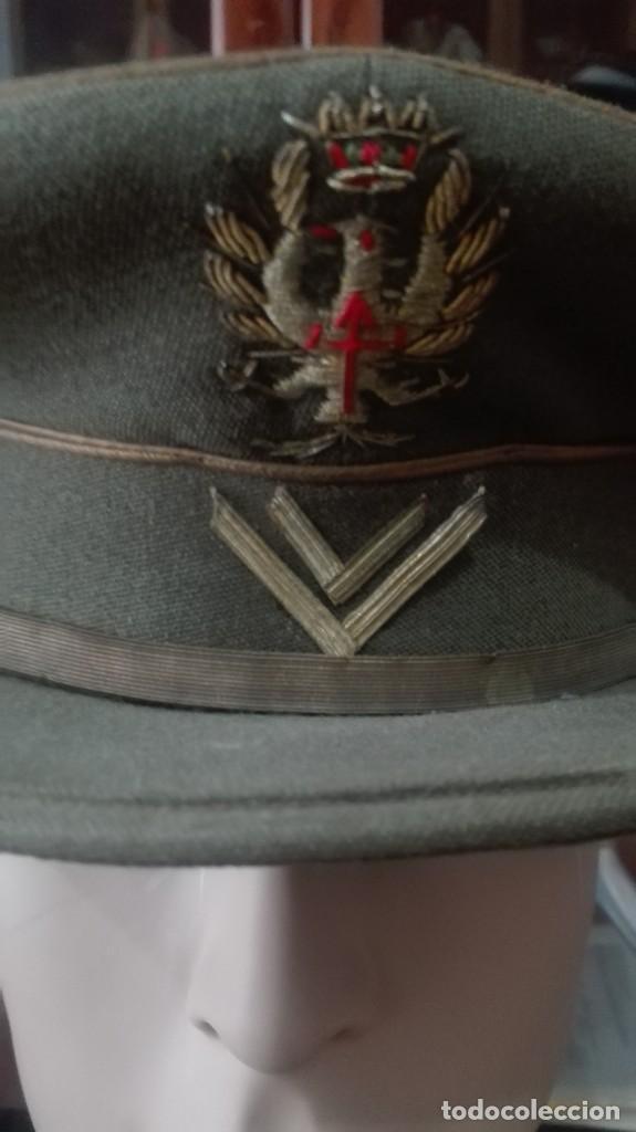 Militaria: GORRA DE PLATO CABALLERO ALUMNO SEGUNDO CURSO. - Foto 2 - 171407692