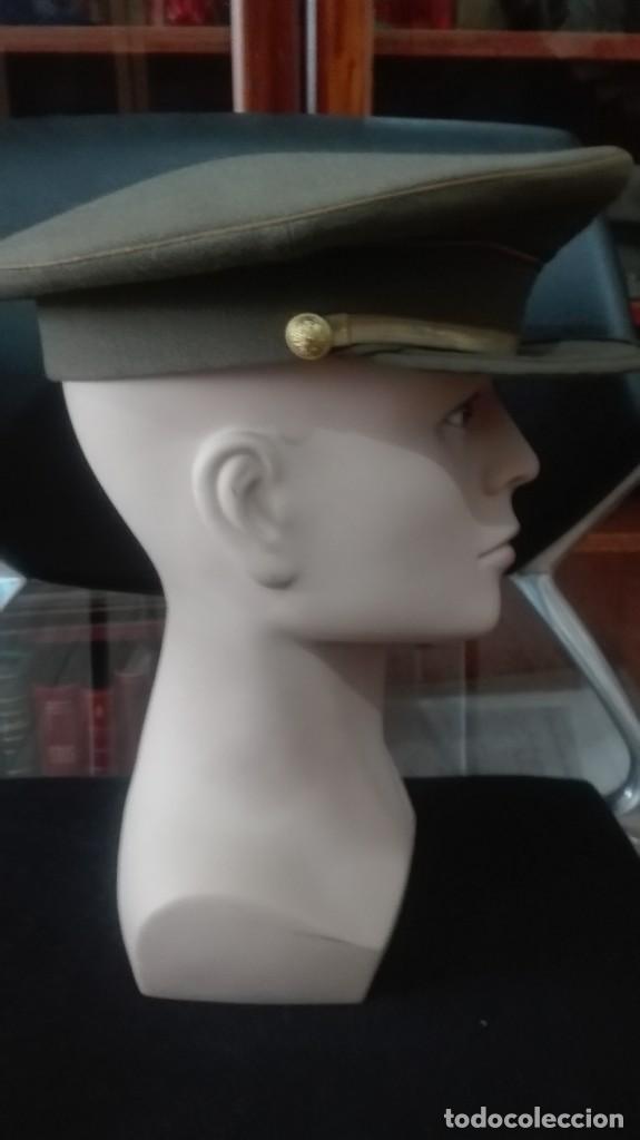 Militaria: GORRA DE PLATO CABALLERO ALUMNO SEGUNDO CURSO. - Foto 3 - 171407692