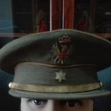 Militaria: GORRA DE PLATO ALFEREZ EPOCA JUAN CARLOS I.. Lote 171408303