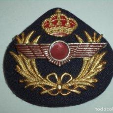 Militaria: GALLETA PARA GORRA DE PLATO DE OFICIAL DEL E. DEL AIRE. Lote 171588170