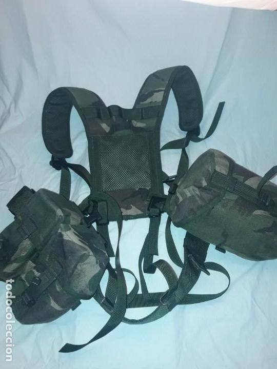 Militaria: Conjunto equipo de combate chaleco cinturón cartuchera cantil 1990/1996 - Foto 19 - 171608234