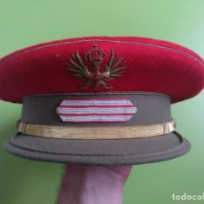 Militaria: GORRA DE PLATO SARGENTO REGULARES DE MELILLA. Lote 171742735