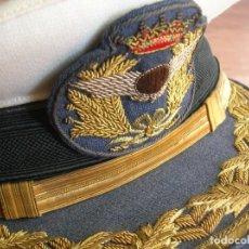 Militaria: EXCEPCIONAL Y ANTIGUA GORRA DE GENERAL DE AVIACIÓN. AÑOS 40-50. EJERCITO DEL AIRE. EPOCA DE FRANCO.. Lote 171750930