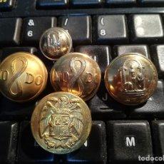Militaria: LOTE 5 BOTONES. Lote 171814025