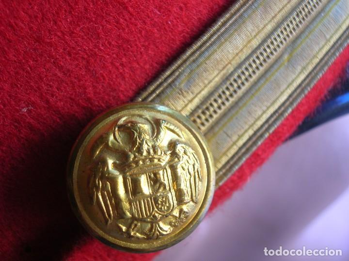 Militaria: EXCEPCIONAL Y MUY ESCASA GORRA DE COMANDANTE DE LA GUARDIA DEL CAUDILLO GENERALISIMO FRANCO. - Foto 10 - 171989599