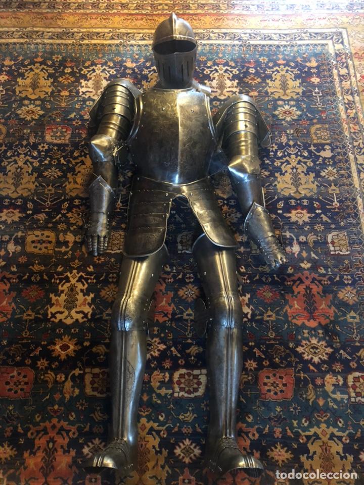 Militaria: Antigua Armadura medieval completa - Foto 13 - 172069734